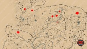 rdr2 online timber wolves locations where to find