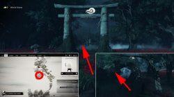scarlet rock shinto shrine toyotama ghost of tsushima