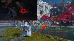 six blades mythic tale ghost of tsushima kojiro location