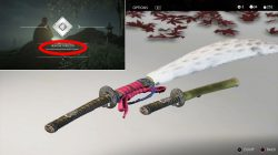 sword customization kits how to get ghost of tsushima