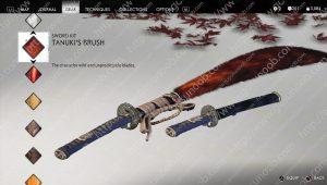 tanuki's brush sword kit