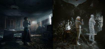 the medium gameplay trailer showcases dual reality mechanics