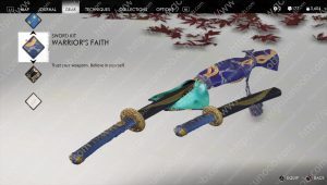 warrior's faith sword kit