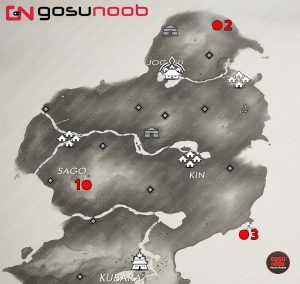 where to find all ghost of tsushima shinto shrine locations