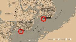 where to find legendary cross fox docks location red dead online