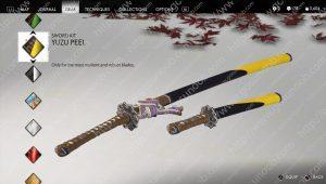 yuzu peel sword kit