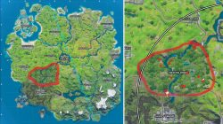Fortnite Firefly Locations Weeping Woods