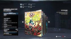 avengers legacy set comics locations captain america 695