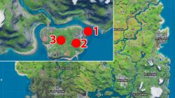 camp cod campfires locations fortnite