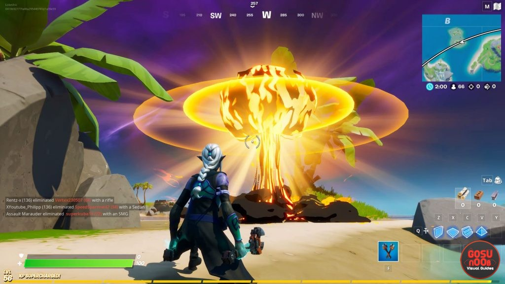 coral buddies nuclear age secret challenge location in fortnite