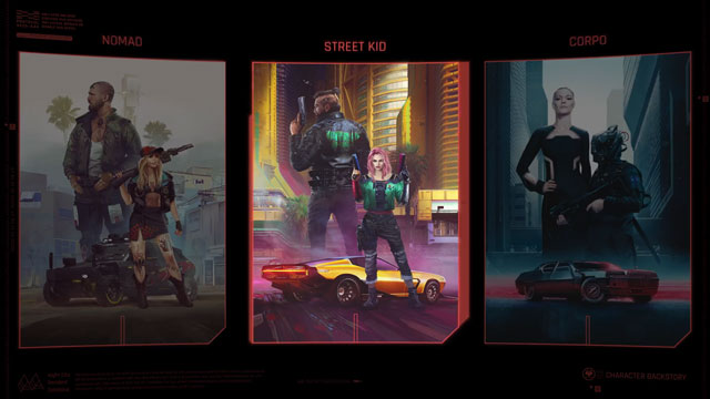 cyberpunk 2077 lifepaths video highlights character backgrounds
