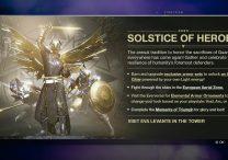 destiny 2 solstice armor objectives tasks bugs