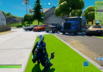drive car from retail row to pleasant park in 4 minutes in fortnite