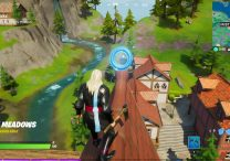 fortnite collect floating rings at misty meadows