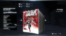 marvel's avengers captain america comic book set locations