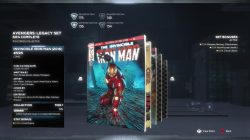 marvel's avengers legacy comic iron man location