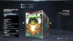 marvel's avengers legacy set comics hulk 709