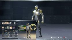obsidian suit iron man marvels avengers