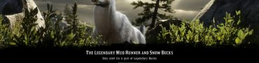 rdr2 online legendary snow buck mud runner locations