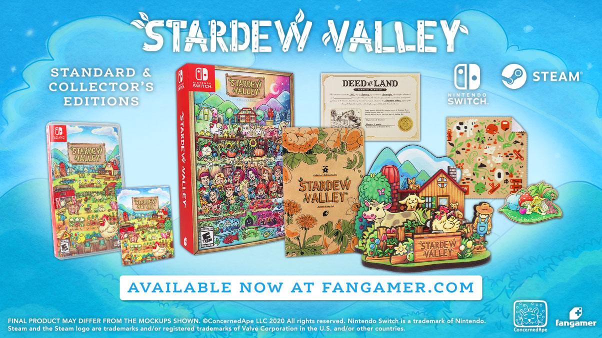 stardew valley physical pc switch editions include collectors edition Select the platform that most useful you prefer, and ahead install it of the journey in order to strike the ground operating whenever you arrive