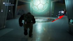 where to find to tame a titan secret gold chest room marvels avengers