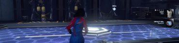 breakout secret gold chest blue floor switch puzzle in marvels avengers