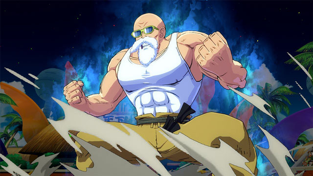dragon ball fighterz getting master roshi as a playable character