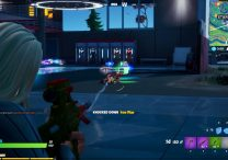 fortnite iron man boss location eliminate iron man at stark industries