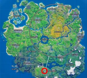 fortnite panther's prowl location