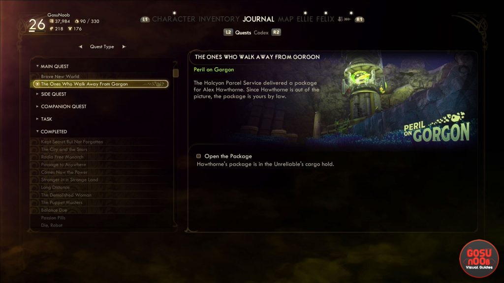 how to start outer worlds dlc peril on gorgon