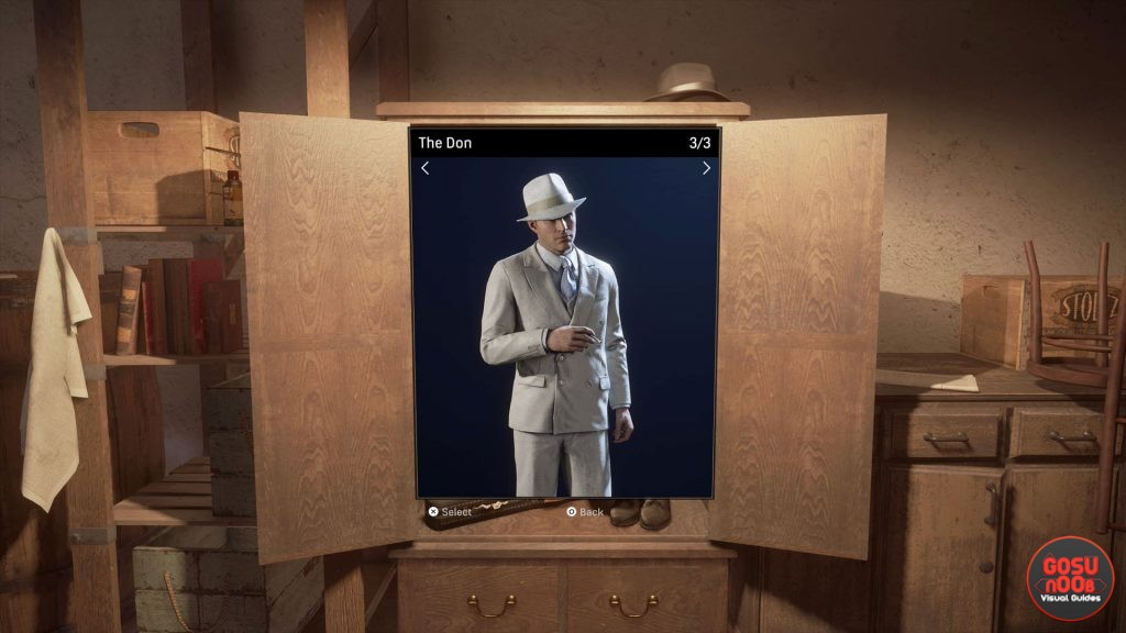 mafia definitive edition outfits change clothes