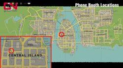 mafia phone booth location central island