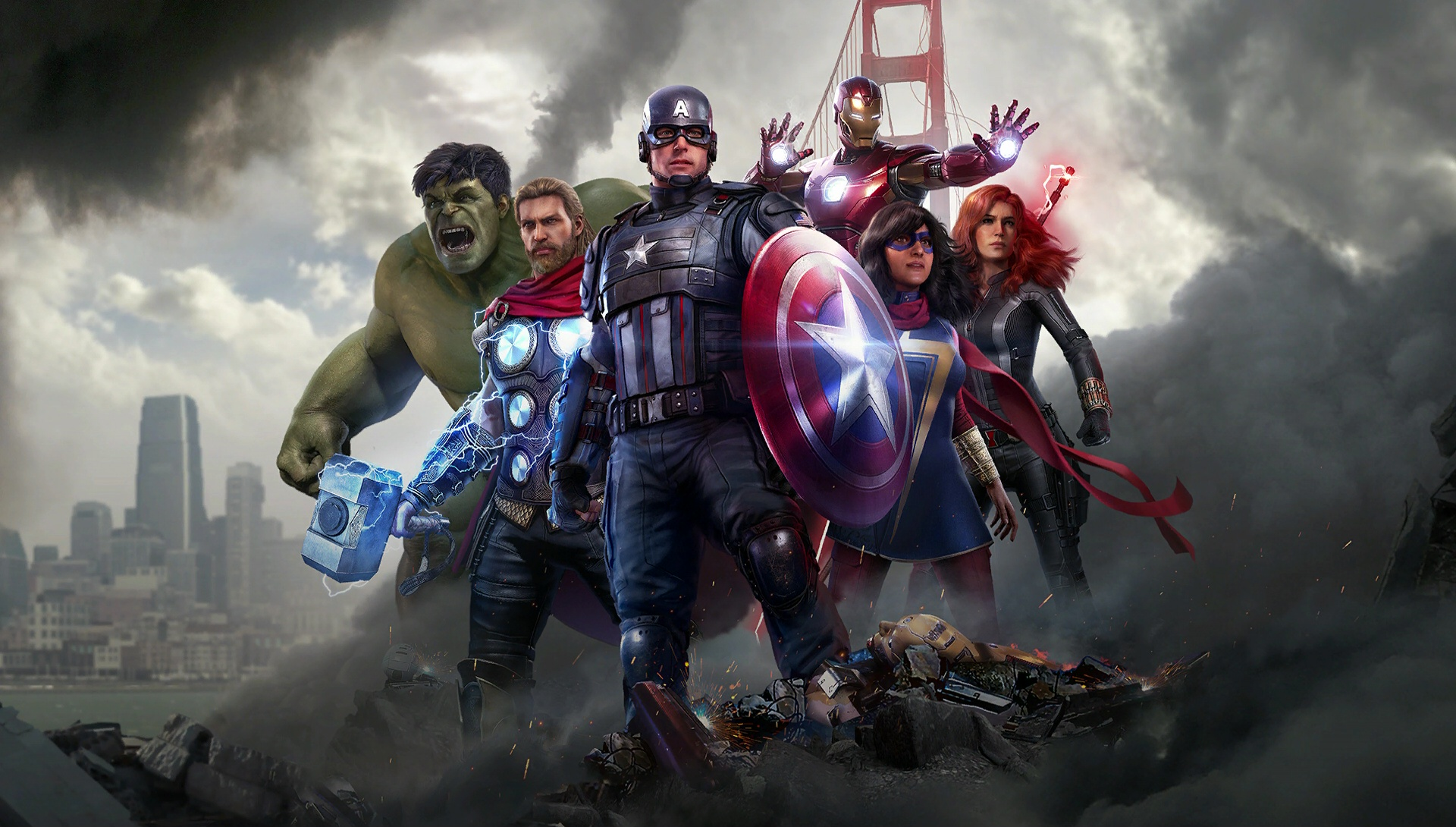 Unlock Thor Captain America Iron Man in Marvels Avengers