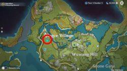 chi of guyun geo statues location genshin impact incomplete writing