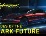 cyberpunk 2077 rides of the dark future shows off snazzy cars