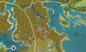genshin impact treasure lost treasure found stone tablet locations