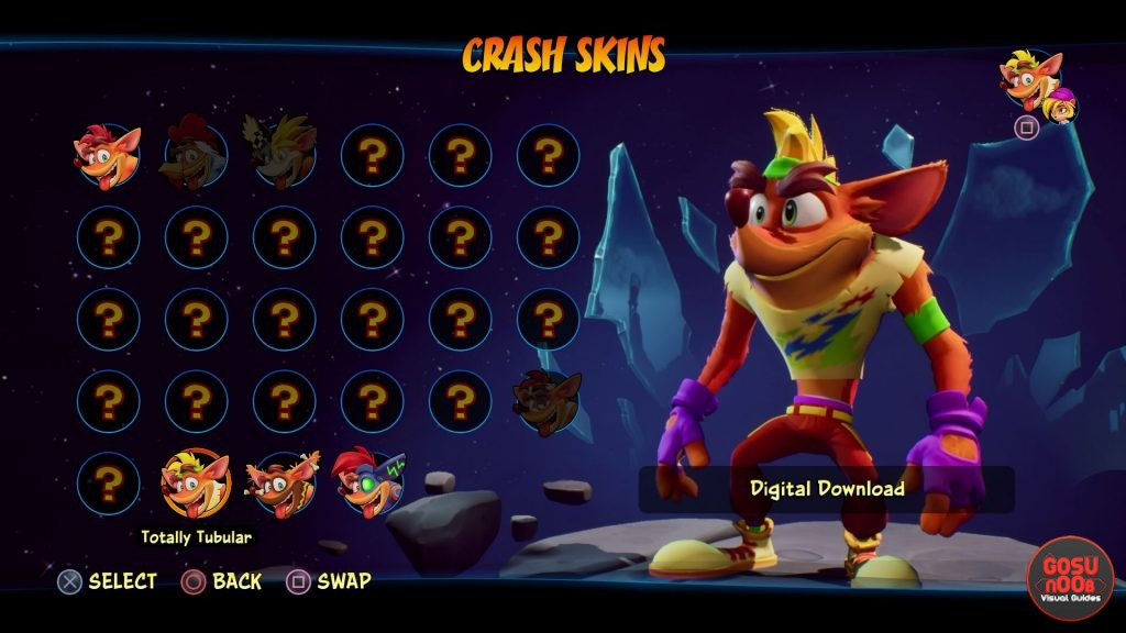how to get crash bandicoot 4 preorder bonuses totally tubular skins