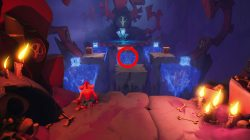 how to get ruby red trophy crash bandicoot 4 red gem location