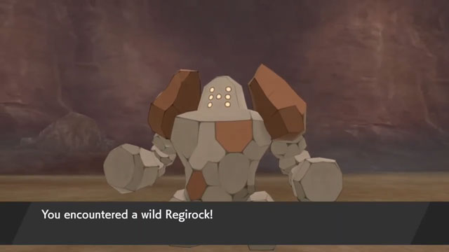 regirock crown tundra hold a never-changing stone