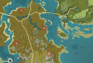 ruin locations genshin impact treaasure lost treasure found