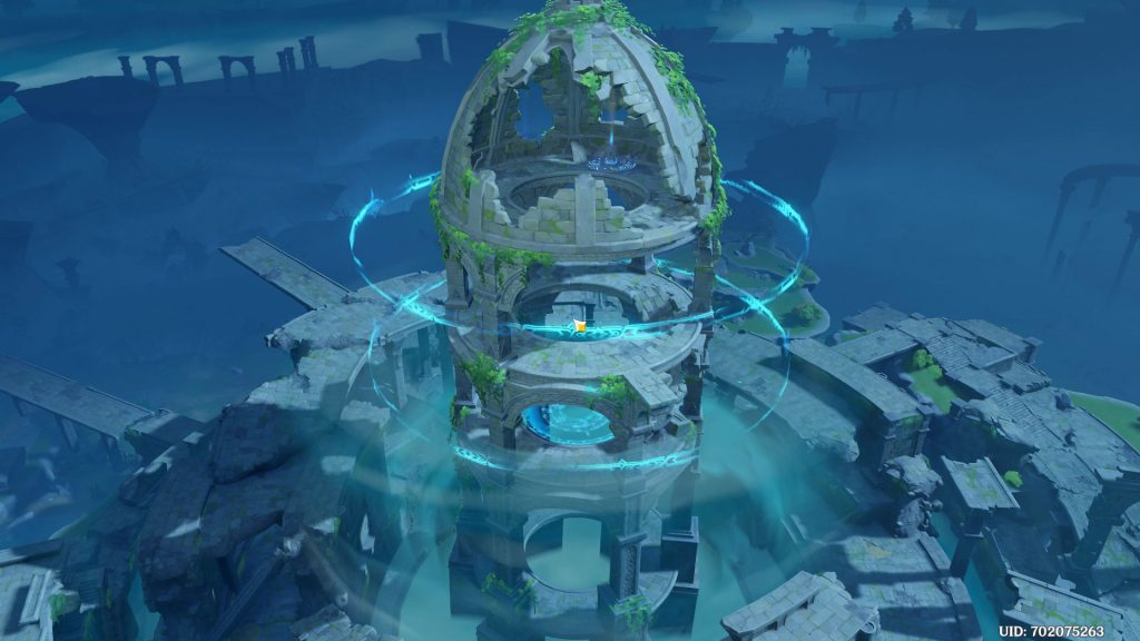 stormterror lair genshin impact break the seal