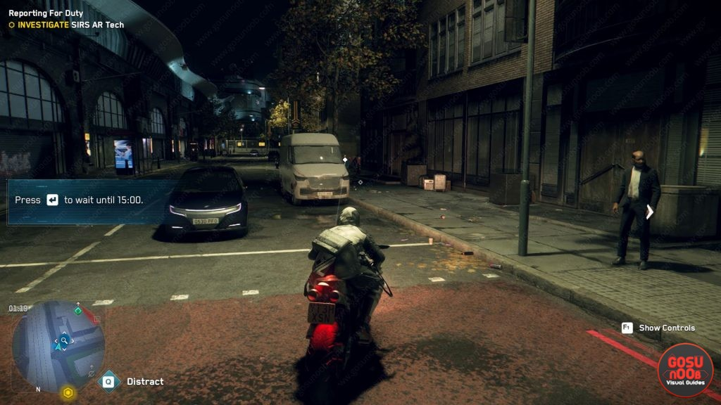 watch dogs legion change in-game time