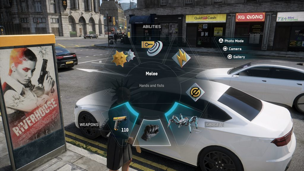 watch dogs legion how to holster weapon
