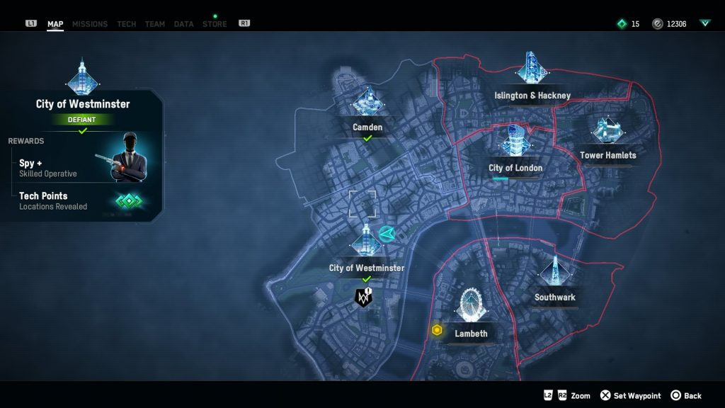 watch dogs legion spy location recruit mi5 spy operative stealth car
