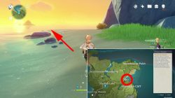 where to find secret island genshin impact how to reach