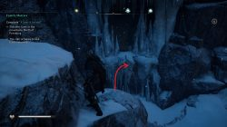 ac valhalla how to reach cave entrance adrift refuge