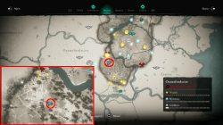 ac valhalla lunden hoard map location