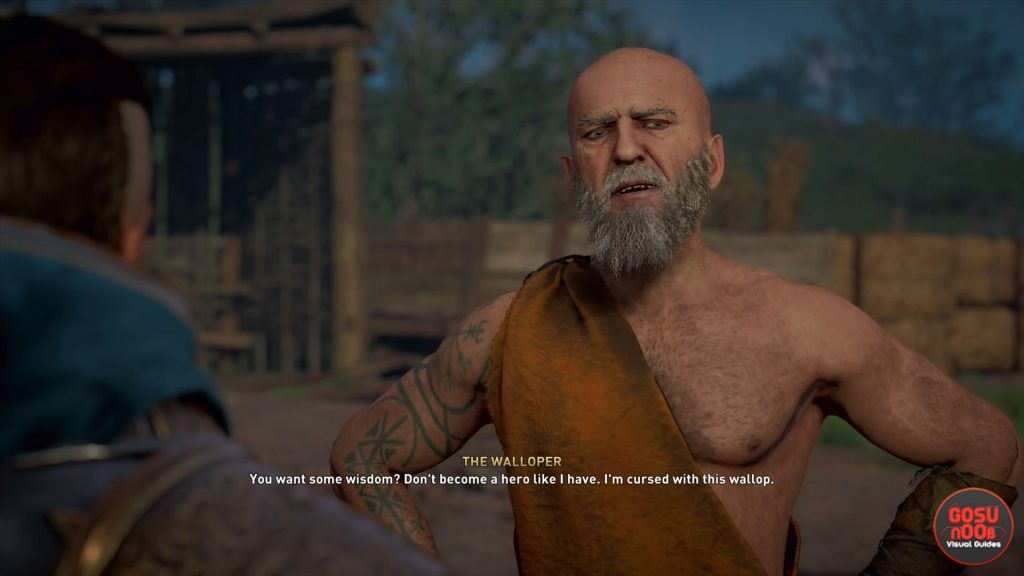ac valhalla the walloper beat the old mans wallop world quest