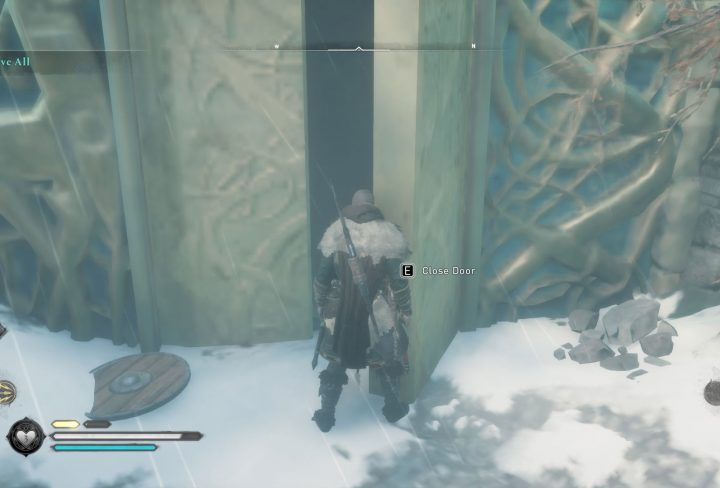ac valhalla View above all close door bug