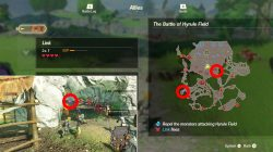 armoranth mighty thistle locations hyrule warriors age of calamity
